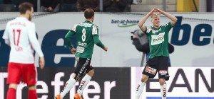 0:1 in Ried erster Dämpfer für Salzburg unter Garcia
