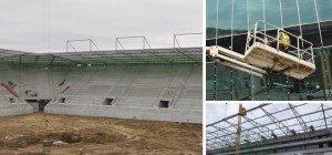 Rapid Wien: Aktuelle Bilder des neuen Allianz Stadions