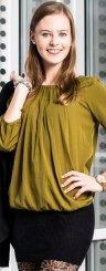 Richtig in Szene gesetzt: Natalie aus Bludenz beweist mit ihrem Outfit Stil.   Foto: VN/Steurer