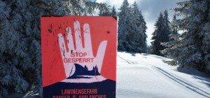 Hohe Lawinengefahr in Vorarlberg: Triebschnee verdeckt Gefahrenstellen