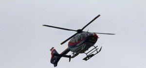 Skitourengeher mussten mit Hubschrauber geborgen werden