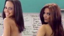Nackt-Lehrerinnen unterrichten Englisch