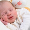 Geburt von Zoe Weber am 15. März