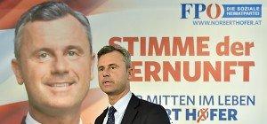 "FPÖ plakatiert Hofer als ""Stimme der Vernunft"""
