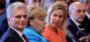 """Mogherini an Österreich: Sperren in EU """"unannehmbar"""""""
