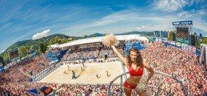 Boarding-Pass-Verlosung zum Beach Volleyball Major Klagenfurt 2016
