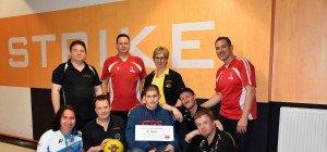 Charity Bowling im Strike ein voller Erfolg
