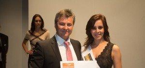 Misswahl 2016: Natalie aus Schlins zur Miss Online 2016 gewählt