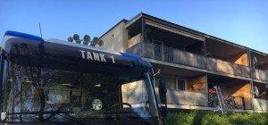 Großeinsatz nach Wohnungsbrand in Hohenems