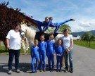 Erfolgreiches Voltigierturnier für den Pferdesportverein Blumenegg