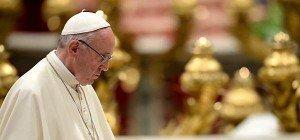 Karlspreisverleihung an Papst Franziskus in der Sala Regia