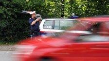 Führerscheinneuling fährt 78 km/h zu schnell