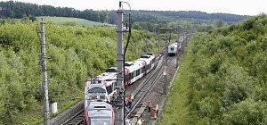 Westbahnstrecke nach Unfall bis Donnerstag unterbrochen