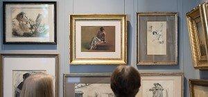 Österreicher und Japaner betrachten Gemälde anders