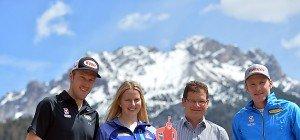 Vorfreude der ÖSV-Biathleten 275 Tage vor Heim-WM
