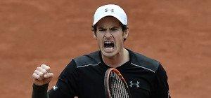 Murray nach Problemen beiFrench Open weiter