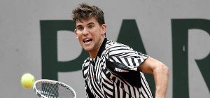 Dominic Thiem erstmals in dritter French-Open-Runde