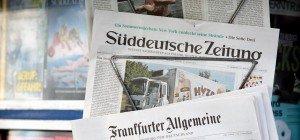 Mehrheit der deutschen Bevölkerung hält Medien für befangen