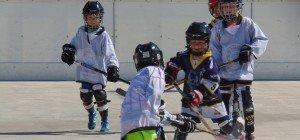Spaß beim Hockey-Event in Hohenems