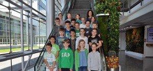 Praxisvolksschule Feldkirch zu Besuch bei Russmedia