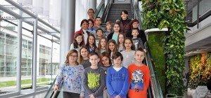 Volksschule Lauterach-Dorf zu Besuch bei Russmedia