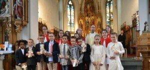 Ein unvergessliches Erlebnis – die erste Heilige Kommunion