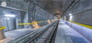 Der Gotthard-Tunnel im 360°-Video