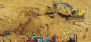 Tote bei Erdrutsch in Jade-Mine in Myanmar