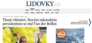 Das sagt die internationale Presse zur Wahl von Van der Bellen