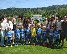 Erfolgreiches U-7-Fußball-Turnier im Stadion am Hoferfeld in Lochau