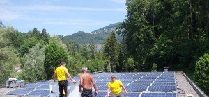 Photovoltaikinvestitionsprogramm erfolgreich abgeschlossen