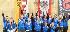 Internationales Karateturnier In Dornbirn