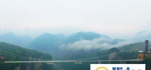 Die längste und höchste Glasbrücke der Welt