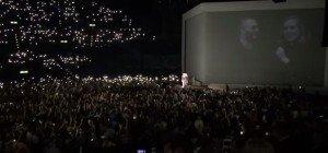 Heiratsantrag bei Adele Konzert im Hallenstadion in Zürich