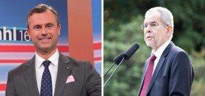Nach der Wahl: So läuft der Dienstag für Hofer und Van der Bellen