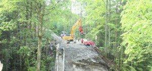Kleinwasserkraftwerk infolge eines Felssturzes insolvent