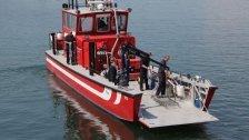 Hard: Motorboot in Gondelhafen gesunken