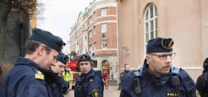 Mehr Übergriffe auf Polizei in Schweden