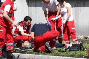 Wolfurt: Flüchtling stürzt aus dem vierten Stock