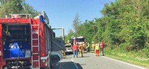 Weitwörth: Schwerverletzte und eine Tote bei Frontalcrash auf der B156