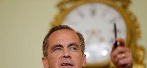 Britischer Notenbankchef signalisiert Geldpolitik-Lockerung