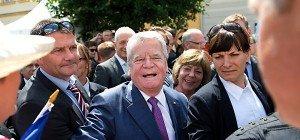 Deutscher Bundespräsident in Sachsen massiv beschimpft