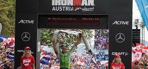 Vanhoenacker gewann zum achten Mal den Ironman Austria