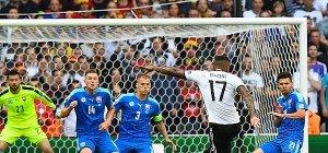 Deutschland nach 3:0 gegen Slowakei im Viertelfinale