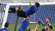 Italien: Candreva und De Rossi angeschlagen