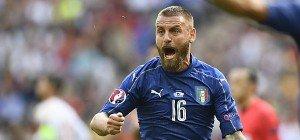 Italien trainierte weiter ohne De Rossi und Candreva