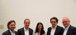 Bürgermeister Egger begrüßt das neue Tourismus-Kompetenzcenter in Hohenems