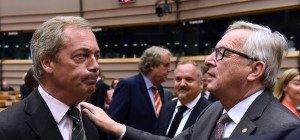Heftige Debatte im EU-Parlament, Kritik an Farage
