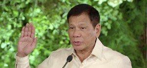 Duterte als neuer philippinischer Präsident vereidigt