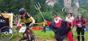 Mountainbikerennen Schuttannen